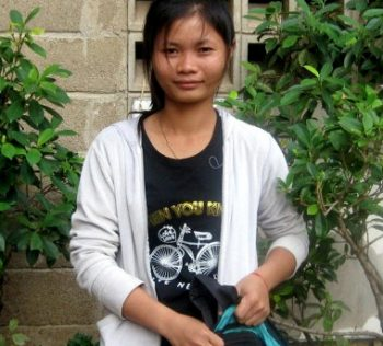 Srey Neang, RSP student and teacher